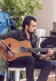 Singing flamenco Stock Photo