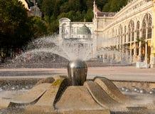 Singing Fountain, Marianske Lazne Royalty Free Stock Photos