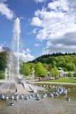 Singing fountain, spa Marianske lazne, Czech republic Stock Images