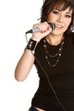 Singing Girl Royalty Free Stock Images