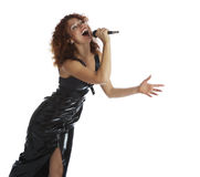 Singing Girl Stock Image