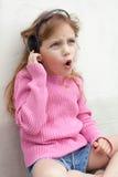 Singing girl Stock Image