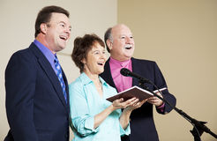 Singing Group Stock Photo