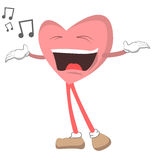 Singing Heart Stock Photography
