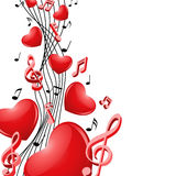 Singing hearts Stock Photography