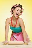 Singing her favorite song Royalty Free Stock Image