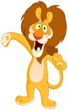Singing lion Royalty Free Stock Photo