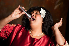 Singing for the Lord Royalty Free Stock Photo