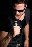 Singing Man Royalty Free Stock Image