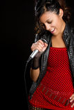 Singing Mexican Girl royalty free stock photos