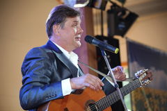 Singing performer, actor, guitarist Alexander Blok Stock Photo