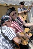 Singing pirates Stock Image