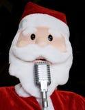 Singing Santa Royalty Free Stock Image