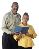 Singing Senior Couple royalty free stock photos