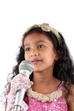 Singing Sensation Royalty Free Stock Photography