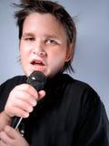 Singing sensation Royalty Free Stock Image
