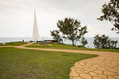 Singing Ship Headland, Emu Park, Queensland. Stock Photos