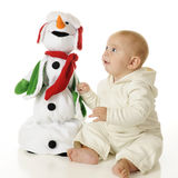 Singing Snow-Buddies Royalty Free Stock Images