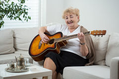 Singing the song royalty free stock photos