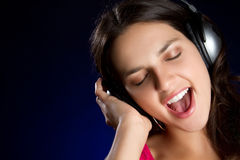 Singing Teen Stock Image