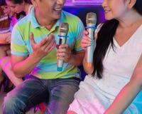 Singing together Stock Images