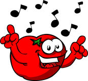 Singing Tomato Stock Photos