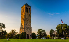 The singing tower in Carillon Park, Luray, Virginia. Royalty Free Stock Photo
