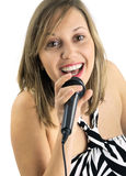 Singing Royalty Free Stock Photos