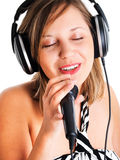 Singing Royalty Free Stock Photo
