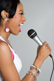 Singing Woman Stock Images