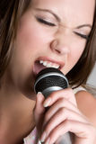 Singing Woman Royalty Free Stock Image