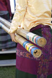 singkil för 2 bambu royaltyfri bild