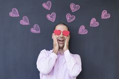 Crazy in love Royalty Free Stock Photos