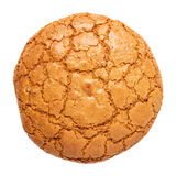 Single almond cookie Stock Image