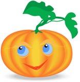 Single Animated Smiling Pumpkin Stock Photography