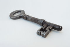 Single Antique Door  Key Royalty Free Stock Photo