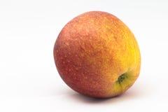 Single apple. Isolated on white background Royalty Free Stock Photo