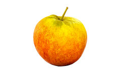 Single Apple. Isolated on a white background Stock Photo