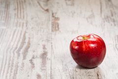 Single apple Royalty Free Stock Photo