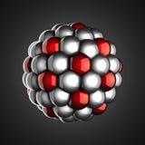 A single atom scientific illustration Stock Images