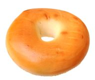 Single bagel Royalty Free Stock Image