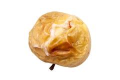 Single baked apple isolated on white background Royalty Free Stock Images