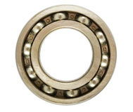 Single ball bearing Royalty Free Stock Photography