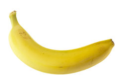Single Banana Stock Photo