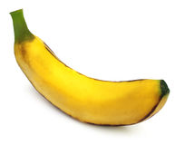 Single banana Royalty Free Stock Photos