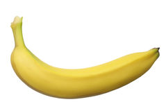Single Banana Royalty Free Stock Image