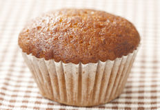 Single banana cup cake Stock Photography