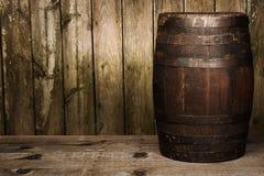 Single Barrel Royalty Free Stock Image