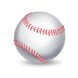Single baseball ball Stock Photography