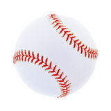 Single baseball, isolated on white Royalty Free Stock Photo